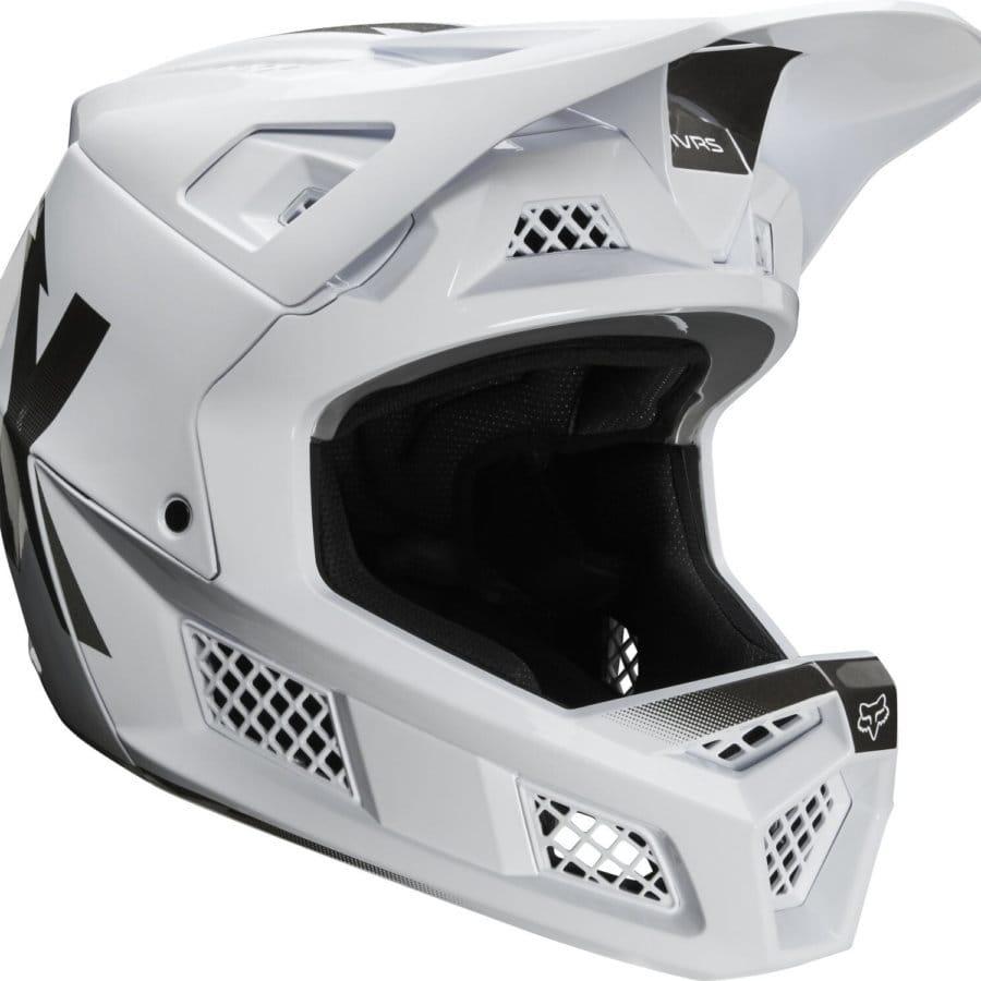 White, Fox RPC Wurd Helmet, Full Face Helmet, Innerleithen, Edinburgh, Glasgow, Newcastle Manchester