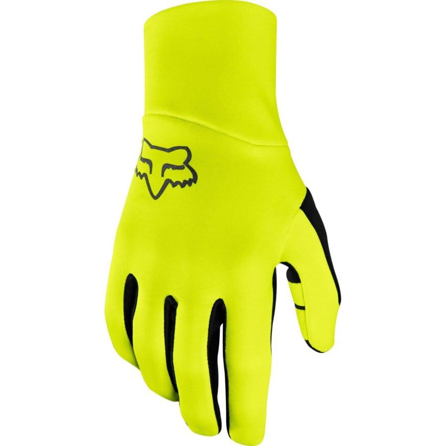 Fox Ranger Fire Glove Day Glow Yellow, Fox Gloves, Fox MTB Gloves, Fox Ranger Gloves, Fox Stockist, Innerleithen, Tweed Valley, Edinburgh, Glasgow, Newcastle, Manchester