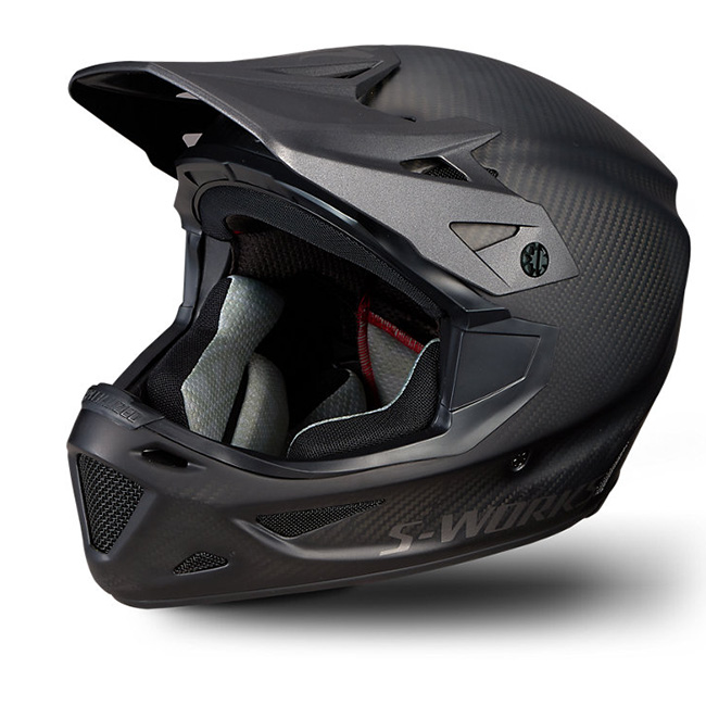 S-Works, Specialized, Helmet, Protection, Safety, Large, Size Large, In stock, Stockist, Raw Carbon, Carbon Fibre, For Sale, Mips, Downhill, Fullface Helmet, Angi, Innerleithen, Bike shop, Peebles, Edinburgh, Newcastle, Glasgow