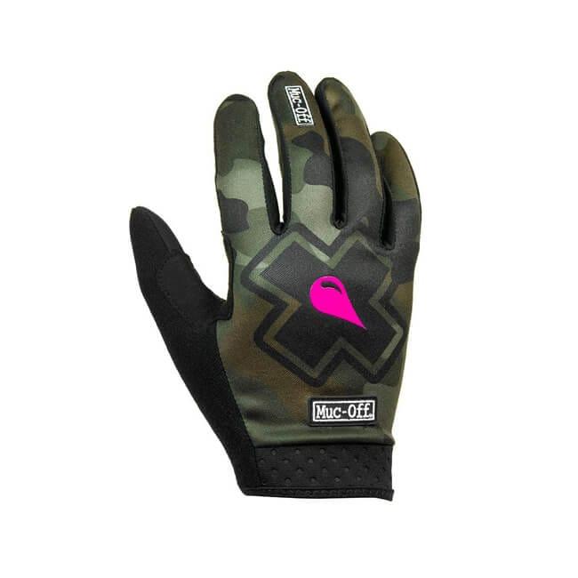 MTB Gloves, Muc-Off, Muc-Off Glove Camo, Camo, Green Camo, Grip, Apparel, Innerleithen, Peebles, Edinburgh, Tweed Valley, Newcastle, Glasgow
