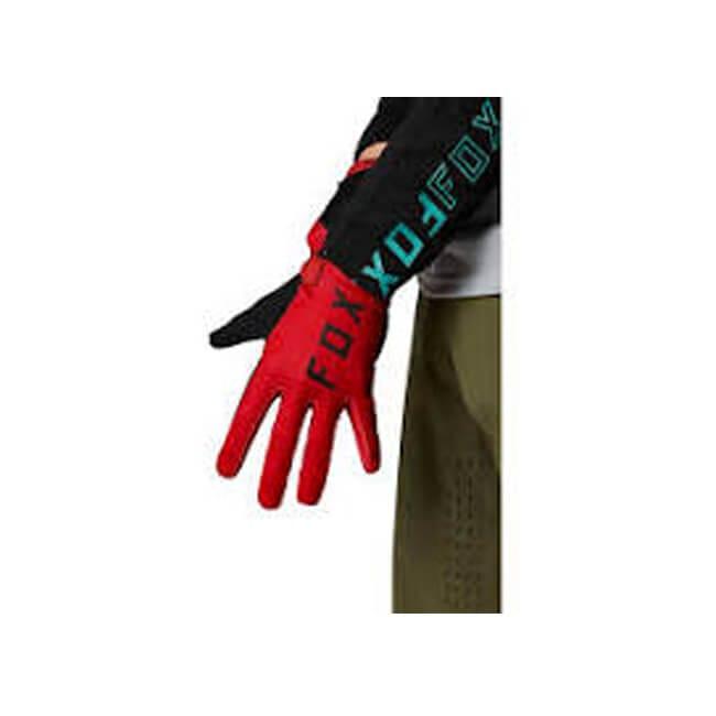 Fox Ranger Gel Glove Chilli, Fox Ranger Gel Glove, MTB Gloves, Innerleithen, Tweed Valley, Edinburgh, Glasgow, Newcastle