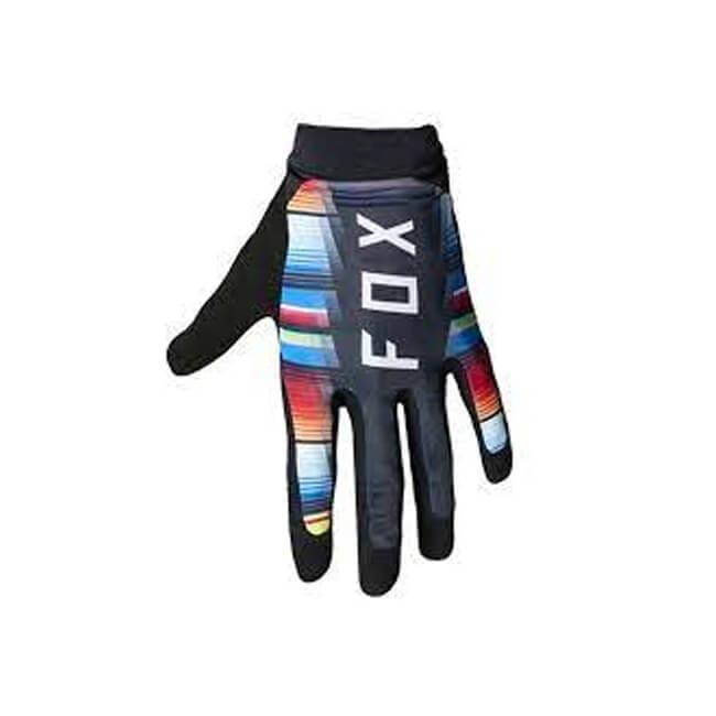 Fox Flexair Gloves Black and Colour, Fox Gloves, MTB Gloves, Innerleithen, Tweed Valley, Edinburgh, Glasgow, Newcastle, Manchester