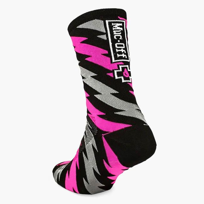 Muc-Off Technical Riders Socks Bolt, Muc-Off Socks, Muc-Off Clothing, Muc-Off Stockist Innerleithen, MTB Socks, MTB Socks Innerleithen, Innerleithen, Peebles, Tweed Valley, Edinburgh, Glasgow, Newcastle, Manchester